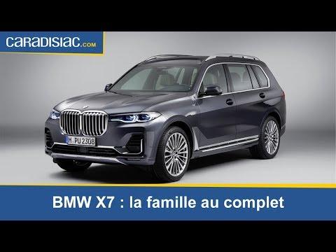 Présentation - BMW X7 : la famille au complet