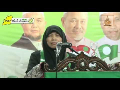 Ucapan Aluan Oleh: Ustazah Hjh. Nuridah Mohd Salleh - Majlis Pengisytiharan Calon P067 Kuala Kangsar