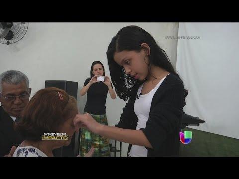 MILAGROS - Una niña en Brasil tiene el poder de la sanidad en sus manos y ya son cientos quienes ofrecen su testimonio. Primer Impacto: Encuentra las noticias y reporta...