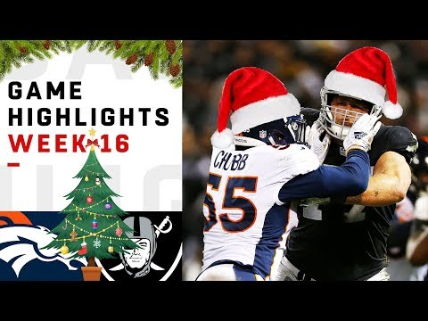Broncos vs. Raiders Week 16 Highlights | NFL 2018