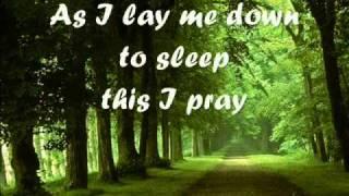 As I Lay Me Down With Lyrics  <b>Sophie B Hawkins</b>