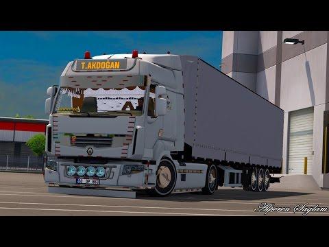 Tanju Akdogan Renault Premium + Tirsan Trailer