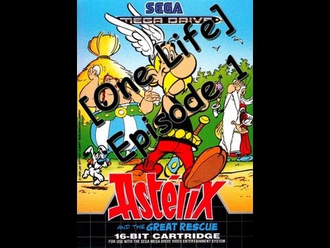 asterix and the great rescue cheats genesis
