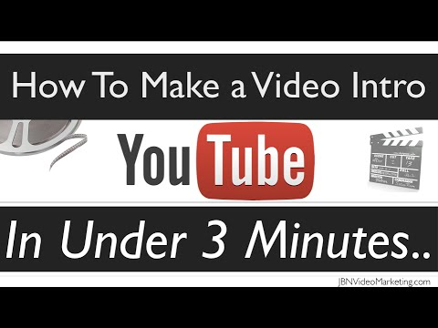 Intro Video - Want to Create Quality intros with Video Intros -▷ http://BestVideoIntros.com ◁- Create Epic Video Intros -▷ http://jbnvideomarketing.com/tips/create-video-i...