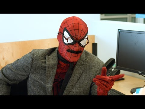 A Normal Day in the Life of John Spiderman Your Friendly Neighborhood