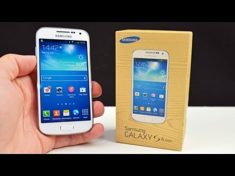 Samsung Galaxy S4 mini: Prvi vtis