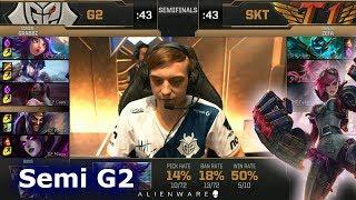Video SK Telecom T1 vs G2 eSports - Game 2   Semi Final LoL MSI 2019   SKT vs G2 G2 MP3, 3GP, MP4, WEBM, AVI, FLV Agustus 2019