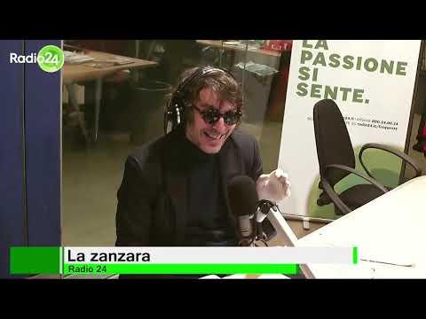 La zanzara l'ottima Maria Elena Fabi, giornalista Rai 24 marzo 2020