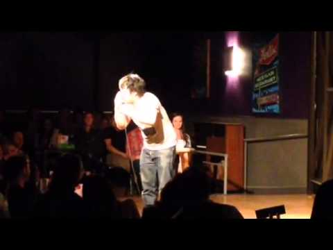 Comedian Bobby Lee on Race and Asian Eyes (Austin Cap City Comedy 2-2-13)