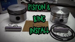 7. How to Install a Piston and Rings