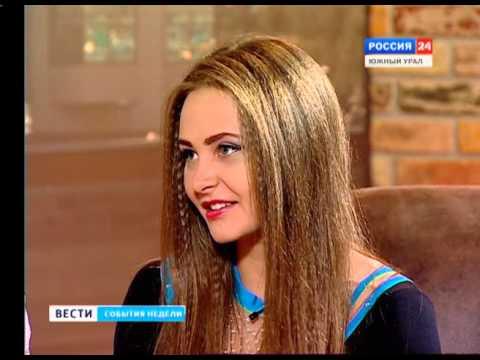 Чирлидеры у ГТРК Южный Урал