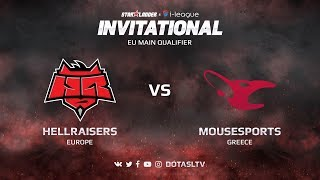 HellRaisers против Mousesports, Первая карта, EU квалификация SL i-League Invitational S3