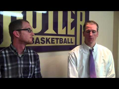 Men's Basketball Coach Mike Bargen talks about his teams win over Allen Coun