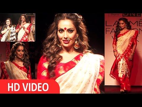 Bipasha Basu Showstopper At Lakme Fashion Week 2016