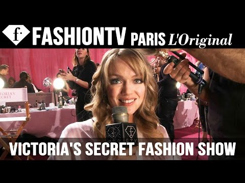 Backstage - WATCH THE SHOW: http://youtu.be/MsMoi5VtKJE Victoria's Secret Fashion Show 2013 2014 BACKSTAGE (2) ft Alessandra Ambrosio, Lindsey Ellingson and Constance Ja...