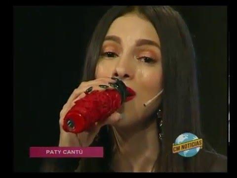 Paty Cantú video Entrevista Argentina - CM Estudio - Diciembre 2015