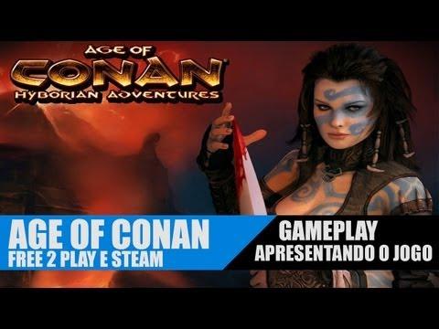 AGE OF CONAN Gameplay – Conheça o jogo