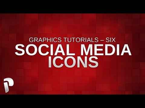 Graphics Tutorials – Social Media Icons & how to use them (w/ downloadable pack) #6 @PaNiiKzZ