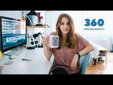 Desk Tour in 360 - Virtual Reality