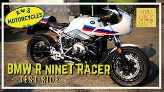 6. 2018 BMW R nineT Racer Test Ride and Review |  A fun, retro, cafe-style motorcycle
