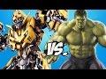 Bumblebee Vs Hulk Epic Battle