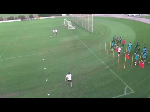 בוקי באימון זריזות מכבי חיפה 2015