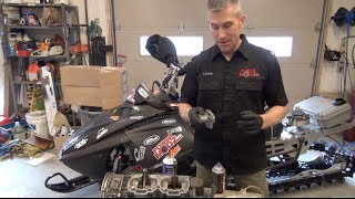 9. Skidoo REV blown 800 motor - Here's what happened!  PowerModz!