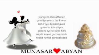 Abdulqadir Jubba - Gayaan (Arooska Munasar♥ Abyan) - 2011