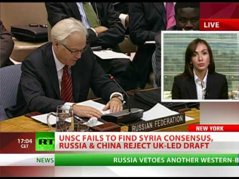 Russia, China veto western-backed Syria resolution at UN