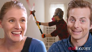 Video Couple Remodels A House For The First Time • Ned & Ariel MP3, 3GP, MP4, WEBM, AVI, FLV Maret 2019