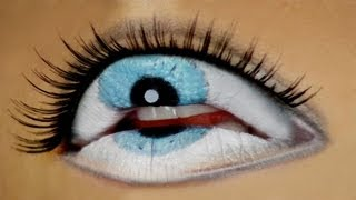 Video The Third Eye - Freaky Lips Halloween Tutorial MP3, 3GP, MP4, WEBM, AVI, FLV Februari 2018