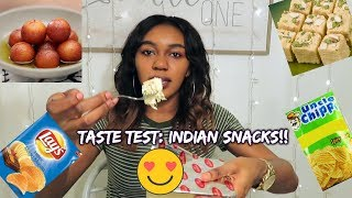 Video TASTE TEST: INDIAN SNACKS PART 2!!! 🇮🇳 MP3, 3GP, MP4, WEBM, AVI, FLV April 2018
