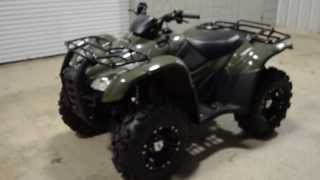 9. 2014 Rancher AT ITP Wheels / Tires + Power Steering 4x4 ATV // Honda of Chattanooga TN TRX420FPA