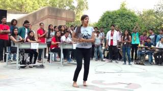 """Indian College Girl - Super Hit Dance In Public On Baby Doll Sunny Leone-~-~~-~~~-~~-~-Please watch: """"Beautiful Punjabi Girl Doing Amazing Bhangra  New Punjabi Dance Video 2017"""" https://www.youtube.com/watch?v=wDR-h0USWBs-~-~~-~~~-~~-~-"""