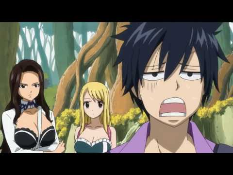 Fairy Tail Gray funny moments (видео)