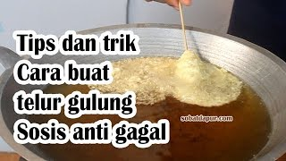 Video Cara buat telur gulung sosis anti gagal MP3, 3GP, MP4, WEBM, AVI, FLV Mei 2019