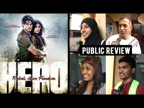 Hero Movie Public Review   Sooraj Pancholi, Athiya