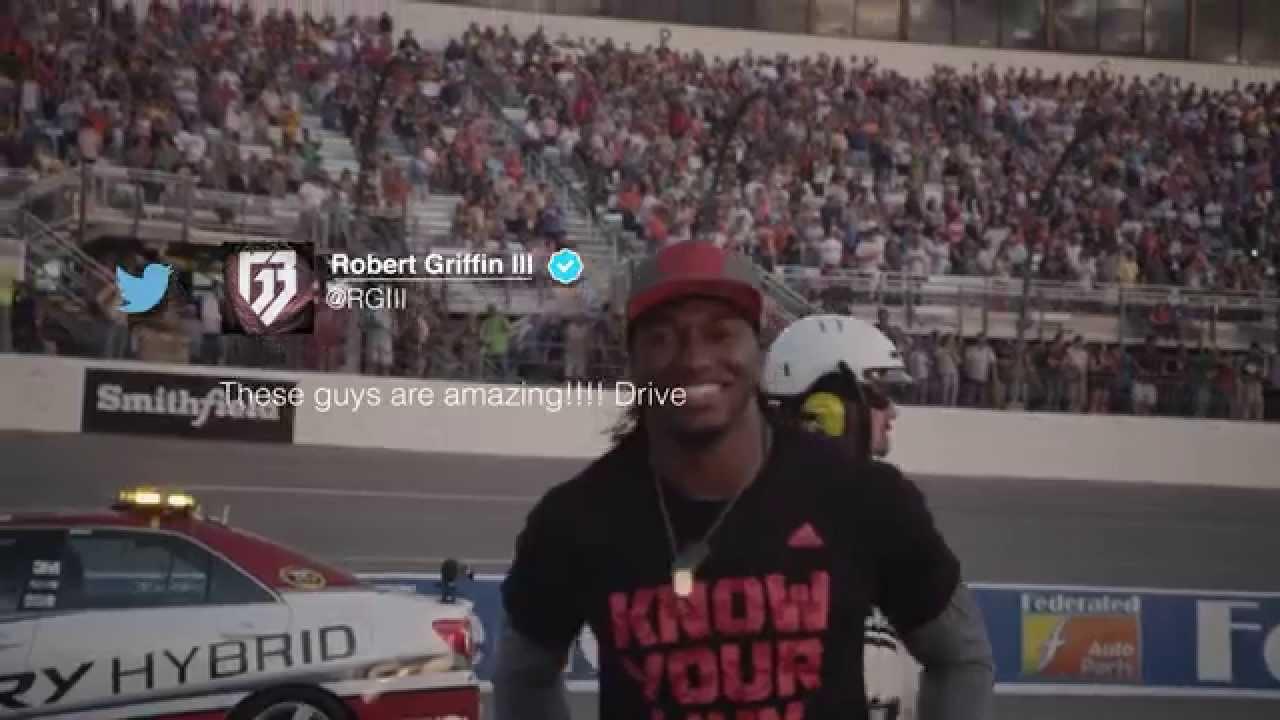 RGIII's Unforgettable NASCAR Experience at Richmond International Raceway
