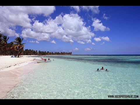 Saona - Join us on Facebook: http://www.facebook.com/escapetraveler (CLICK HERE)!!! The video is a summary of a trip that Escape Traveler took to Isla Saona. Isla Sa...
