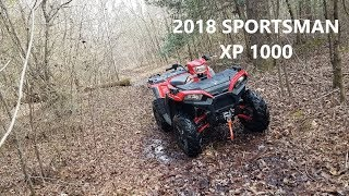 3. Picking up the 2018 Polaris Sportsman XP 1000