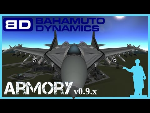 Kerbal Space Program [1.0] BahamutoD's Armory - Вооружение \