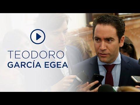 """García Egea: """"El Gobierno de Sánchez se cae a pedazos ante la mirada atónita de los españoles"""""""