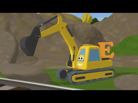 Learn about the letter E with Shawn The Train