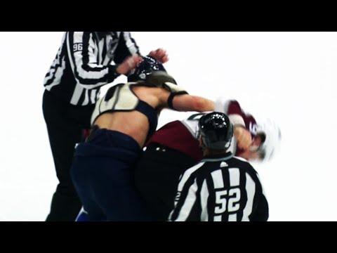 Video: Brayden Schenn loses his jersey in fight with Gabriel Landeskog at start of game