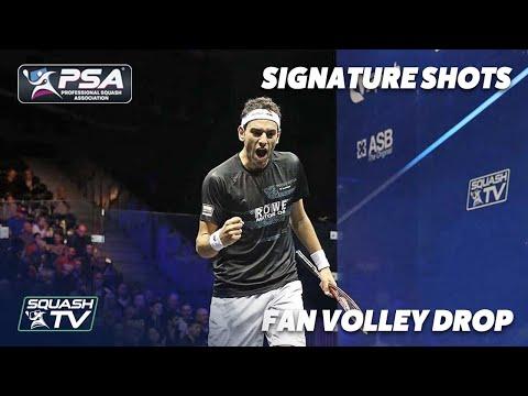 Squash: Signature Shots - Mohamed ElShorbagy - Fan Volley Drop