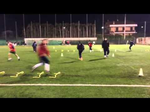 Calcio: Rapidità e cambi di direzione in circuito ad alta intensità 1