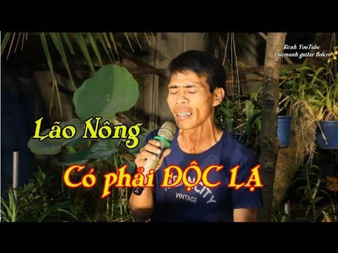 Lính Trận Miền Xa / Lão Nông Bolero & guitar Mái lá / giọng hát này có phải độc lạ ? - Thời lượng: 3:57.