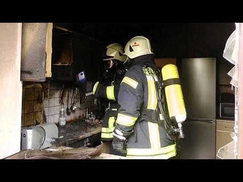 Höringhausen: Fünf Verletzte bei Küchenbrand