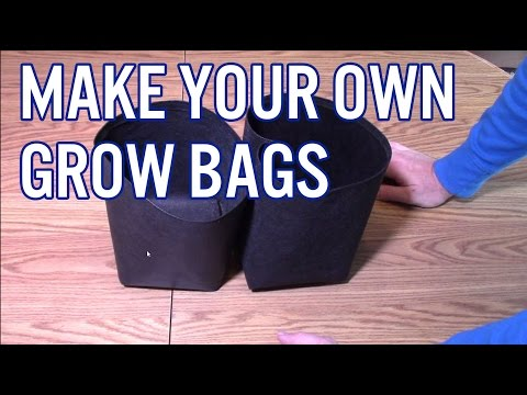 How To Make Your Own Grow Bags