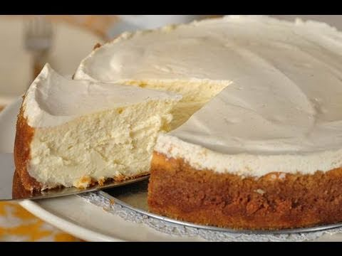 New York Cheesecake (Classic Version) - Joyofbaking.com